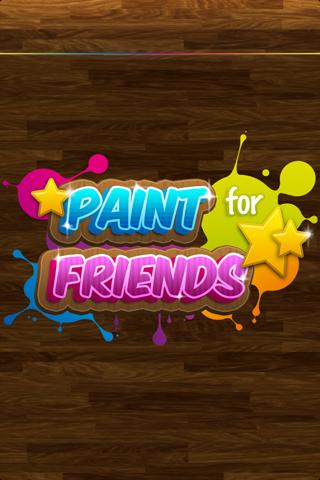 Paint for Friends - screenshot