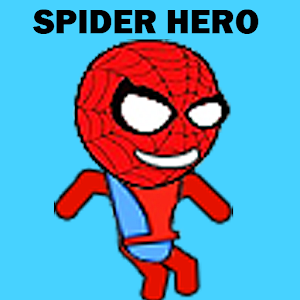 Spider Hero Man Jump Slide for PC and MAC