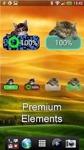 Kitten Battery Widget- screenshot thumbnail