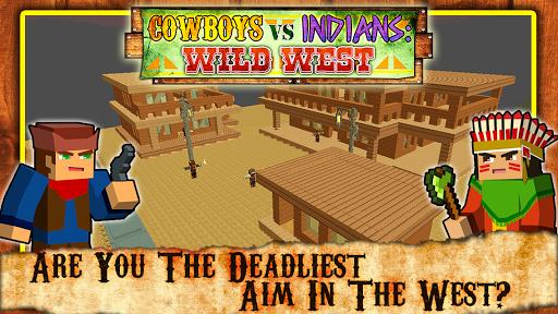 Cowboys vs Indians : Wild West