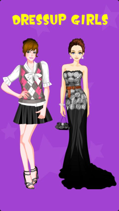 Glamorous Gowns Dress Up - screenshot