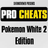 Pro Cheats Pokemon White 2 Edn