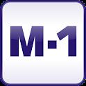Radijo stotis M-1 logo