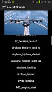 Aircraft Sounds