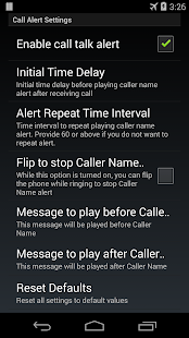 Caller Name Talker - screenshot thumbnail
