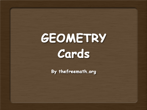 Geometry Cards