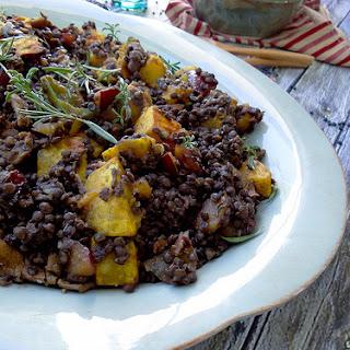 Beluga Lentils & Butternut Squash