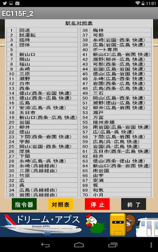 国鉄時代の方向幕FREE EC115F_2|玩娛樂App免費|玩APPs
