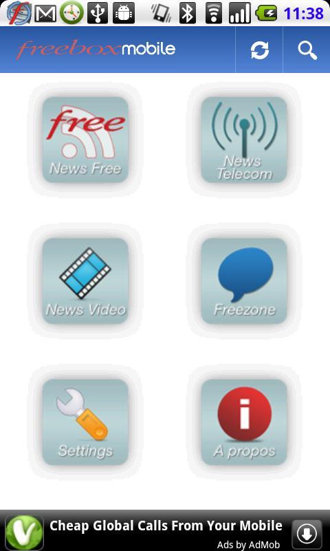 Freebox Actu Mobile - screenshot