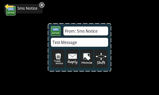 Sms Notice Lite - screenshot thumbnail