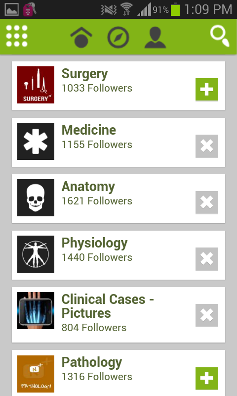 Neuros Medical Social Network- screenshot