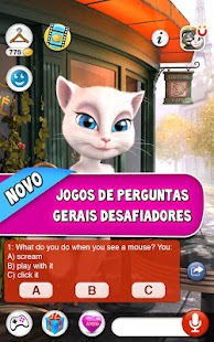 Talking Angela: miniatura da captura de tela