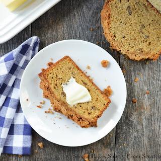 Zucchini Bread With Brown Sugar Crumb