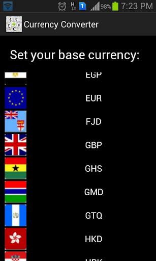 Currency Value Converter