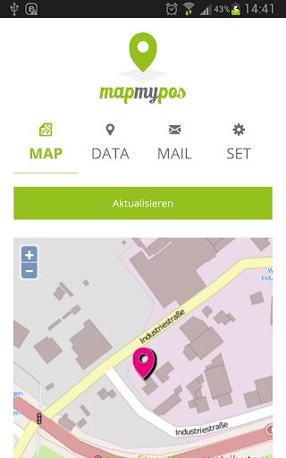 mapmypos - zeig wo Du bist
