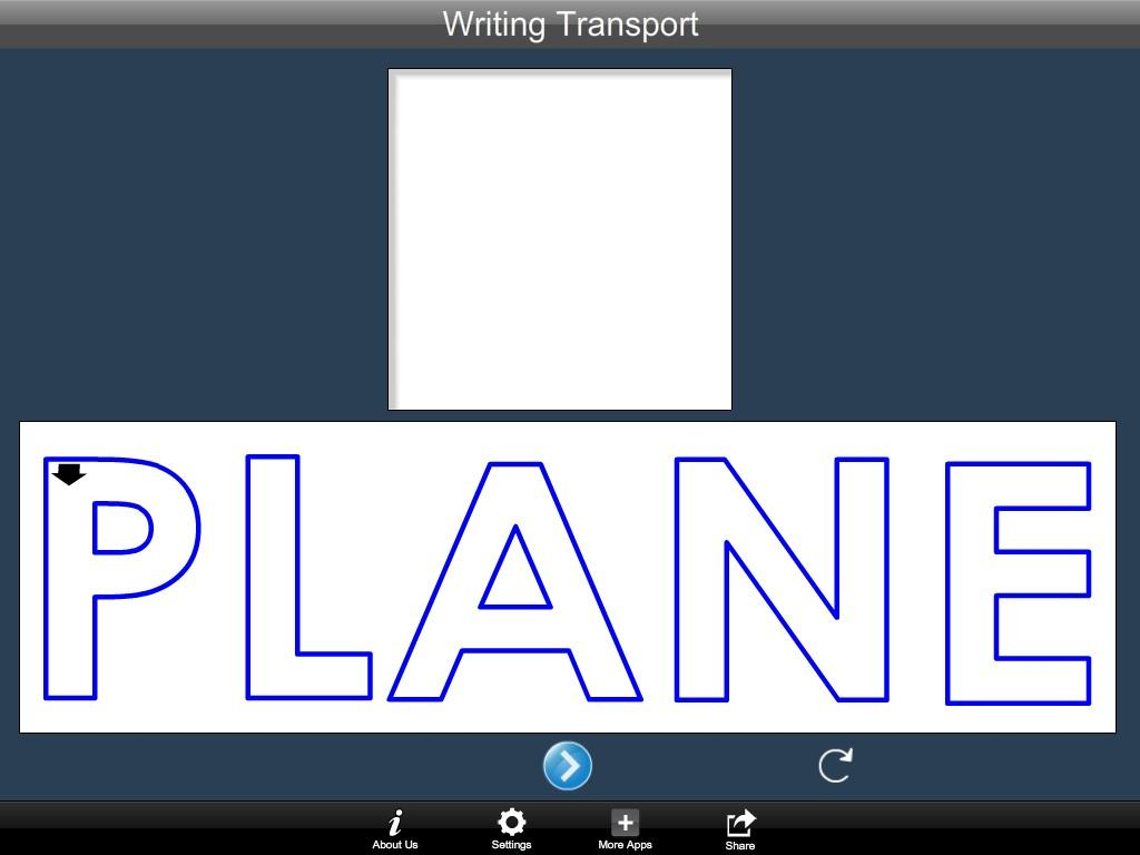 Writing Transport Word- screenshot