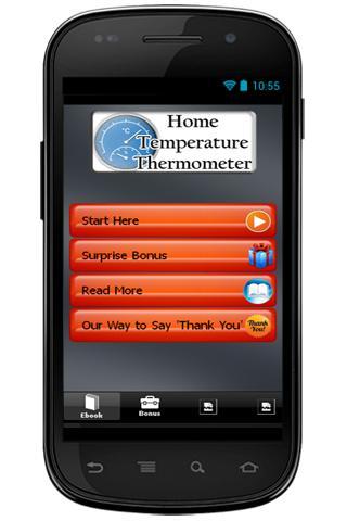 Home Temperature Thermometer