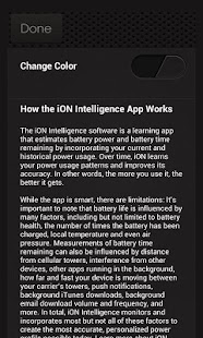 iON Intelligence Battery App - screenshot thumbnail