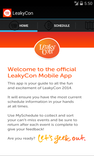 GeekyCon- screenshot