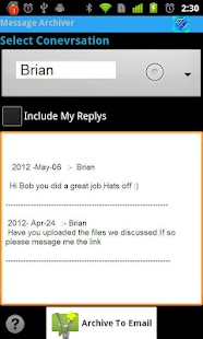 Message Archiver - screenshot thumbnail