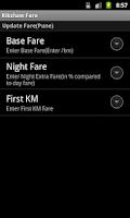 Screenshot of Rickshaw Fare Calculator