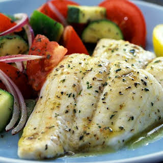 Tilapia with Savory Herb Butter.