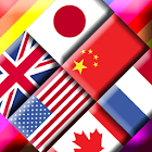 Flag Solitaire + Quiz icon