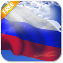 3D Russia Flag Live Wallpaper icon