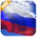 3D Russia Flag icon
