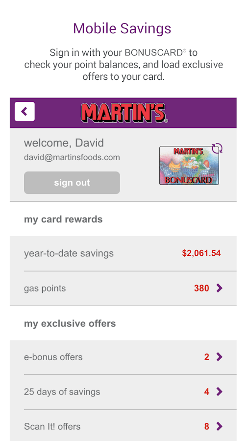 MARTIN'S - screenshot