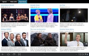 4 Planet Televizija App screenshot