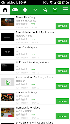 Top Apps for Google Glass