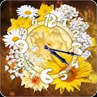 Daisy Sun Flower Clock Widget icon