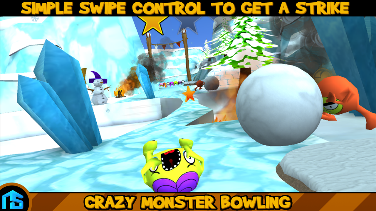 Crazy Monster Bowling- screenshot
