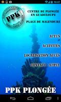 Screenshot of PPK - Plongée Guadeloupe