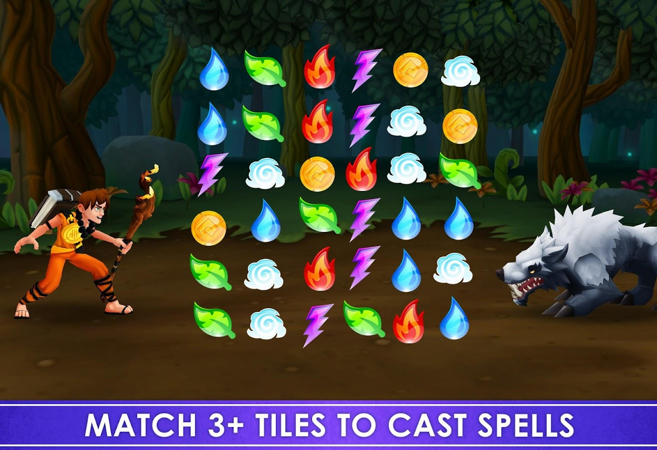 Spellfall™ - Puzzle Adventure- screenshot