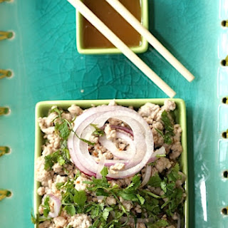 Pork Larb (Pork Salad with Lemongrass).