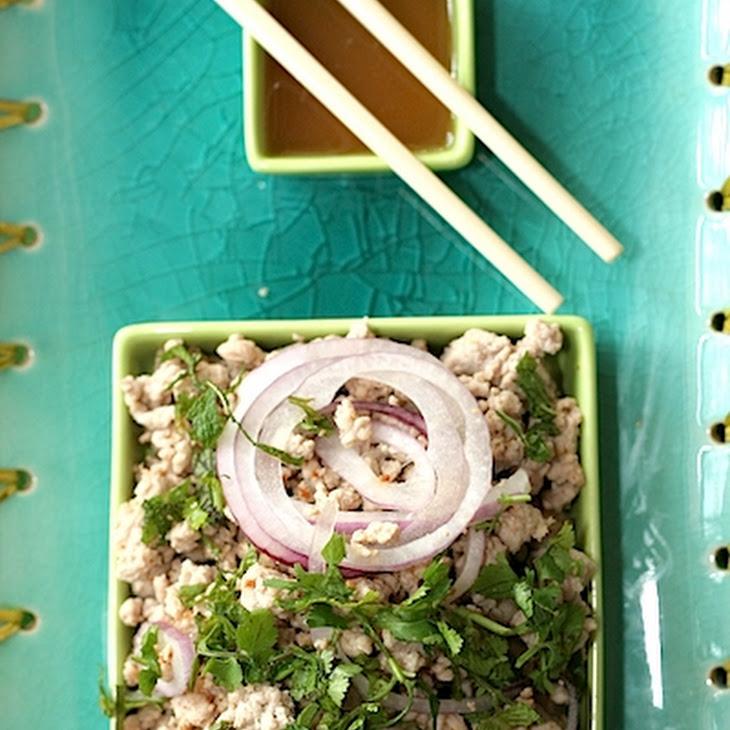 Pork Larb (Pork Salad with Lemongrass)