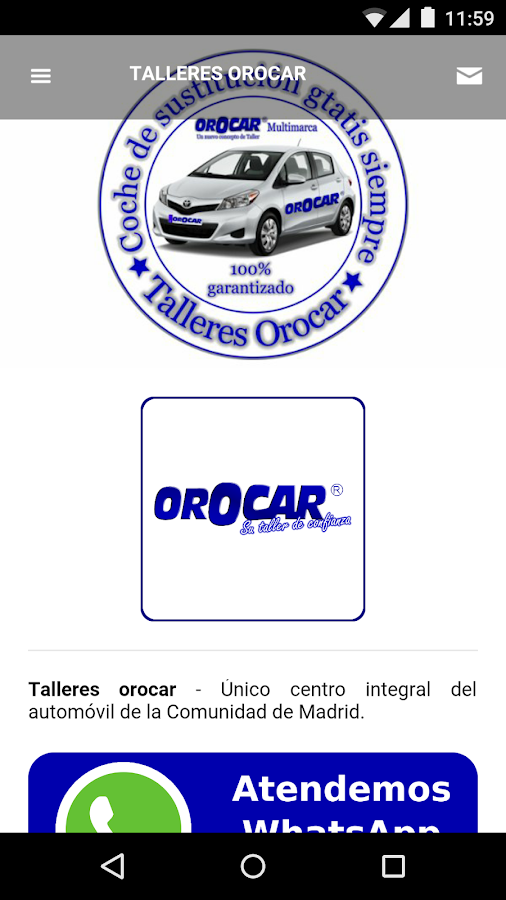 Talleres Orocar- screenshot