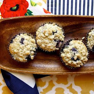 Lemon Blueberry Poppy Seed Muffins.