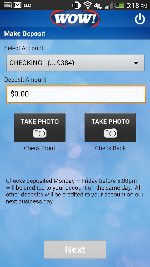 Paducah Bank Mobile - screenshot