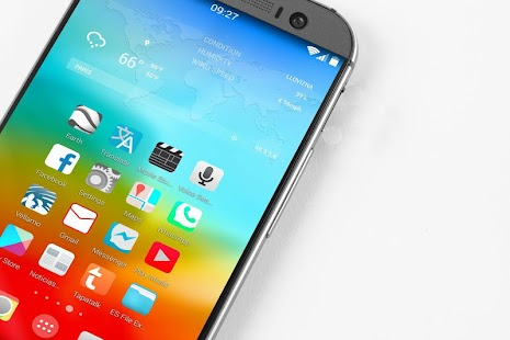 Quantum ios 8 icon pack theme ئه‌ندرۆید
