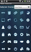 Screenshot of Icon Pack GO Launcher EX