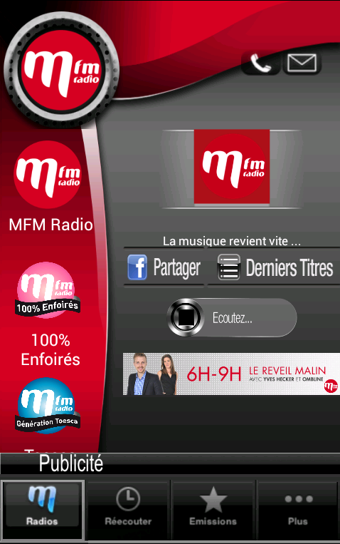 MFM Radio - screenshot