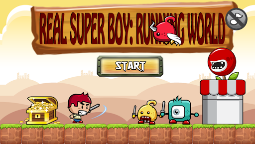 Real Super Boy: Running World