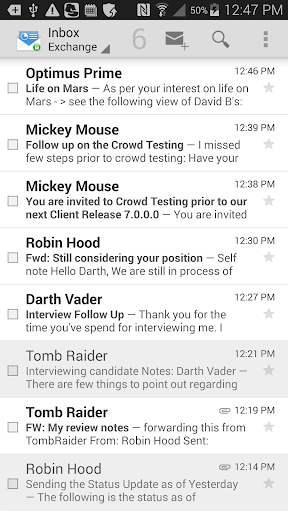 Mobile@Work 5.7.0.2.13R screenshots 4