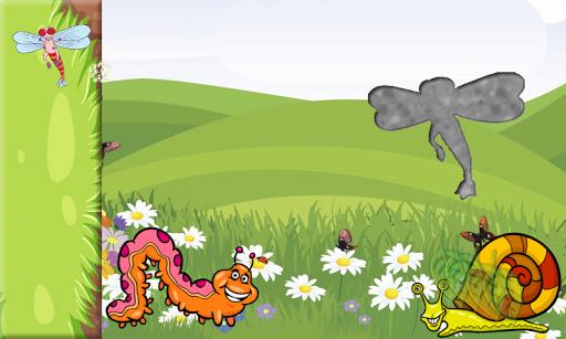 玩教育App|幼儿和孩子们和小女孩的昆虫拼图免費|APP試玩