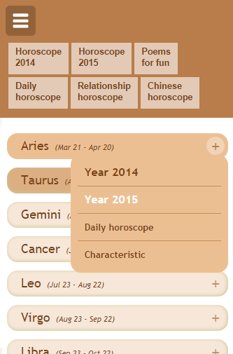 Astro Horoscope- screenshot