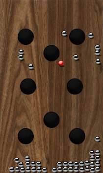 Roll Balls into a hole