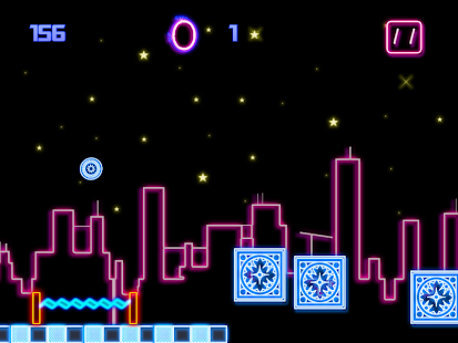 A Neon Bouncing Ball 2- screenshot thumbnail